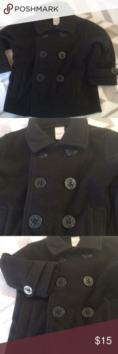 Toddler boys pea coat Super cute and soft pea coat with front pockets Starting Out Jackets & Coats Pea Coats