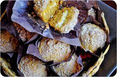 Lemon Sugar: Pumpkin Cream Cheese Muffins