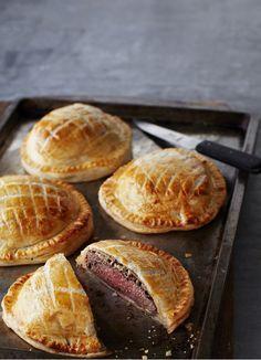 Individual Beef Wellington Pies