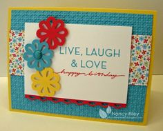 Blossom Bouquet triple layer punch, by Nancy Riley, iSTAMP
