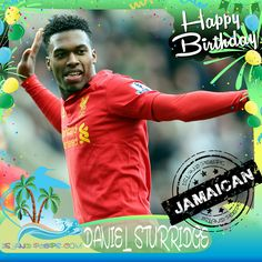 Happy Birthday Daniel Sturridge!!! English professional footballer who plays for Premier League club Liverpool born of Jamaican descent!!! Today we celebrate you!!! @iamDanielSturridge #DanielSturridge #Islandpeeps #Islandpeepsbirthdays #futbol #liverpool #soccer #jamaican