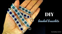 A must have bracelet. DIY bracelet for an elegant outf. A must have bracelet. DIY bracelet for an elegant outfit WOW! A must have bracelet. Beaded Bracelets Tutorial, Beaded Bracelet Patterns, Handmade Bracelets, Diy Bracelet, Gold Bracelets, Diy Armband, Jewellery Sketches, Jewelry Sketch, Seed Beads