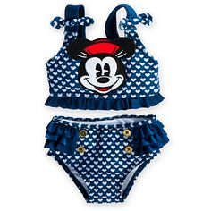 Minnie Mouse 2-Piece Swimsuit for Baby