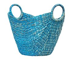 """Basket from water hyacinth """"Aquila"""""""