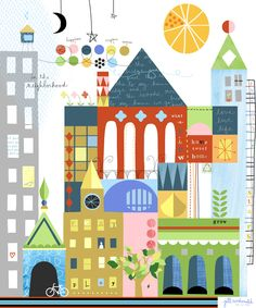 City Art by Jill McDonald Design