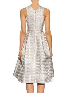 Click here to buy Mary Katrantzou Laguna A-line jacquard dress at MATCHESFASHION.COM