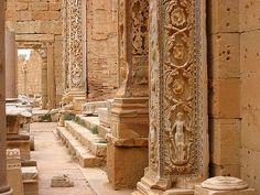 PALMYRE Inside the Basilica