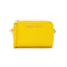 Yellow shoulder bag - Bimba y Lola ss17
