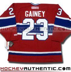 68f7ac2a2aa Bob Gainey Montreal Canadiens CCM vintage jersey. Henri RichardKen Dryden Hockey ...