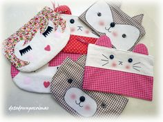 Estuches para llevar los lápices, o neceseres para los peques.. y no tan peques!!!<... My Style Bags, Backpack Pattern, Pencil Bags, Jute Bags, Cute Cases, Kids Bags, Zipper Bags, Small Bags, Little Gifts