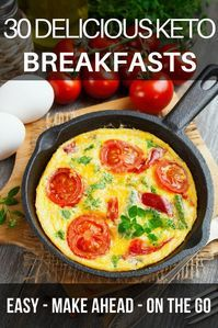90 Keto Recipes: Ketogenic 30 Day Meal Plan This 30-day keto meal plan is perfect if you're new to the ketogenic diet or if you are looking for delicious keto recipes to add to your weekly meal plan! With over 90 easy breakfast, lunch, and dinner recipes you'll find great tasting low carb meals for every day of the month! From easy crockpot recipes to vegetarian and dairy-free options-this meal plan has you covered! #keto #ketogenic #ketodiet #ketorecipes #ketogenicdiet #lowcarb #mealplan