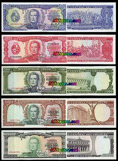 Uruguay banknotes, Uruguay paper money catalog and Uruguyan currency history