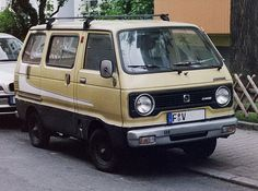 Facelifted Hijet 55 Wide (1980-81)