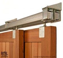 Heavy Duty Industrial Bypass Box Rail Barn Door Hardware (500lb+)