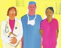 If male doctors were as good as their female counterparts at caring for older people in the hospital, about 32,000 fewer patients a year would die. What do female doctors do better than men?