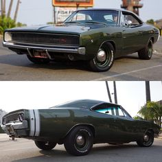 """musclecarspics: """" Pic by: Driving Line _ '68 Charger R/T 🇺🇸! _ ➡️ #musclecarspictures ⬅️ _ #v8 #follow #1968 #dodge #charger #rt #mopar """""""