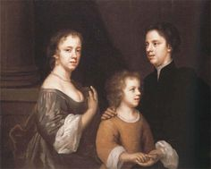 Mary Beale with her family