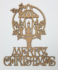 Made From thick High Quality MDF. Any laser processing marks can be removed by a light sanding or simply painting over. Merry Christmas, Christmas Lanterns, Decor Crafts, Home Decor, Embellishments, Ceiling Lights, Shapes, Ebay, Painting