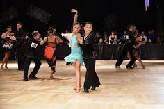 Roman M. and Veronika A. at Nyemchek's Junior All-Star Dancesport Championships