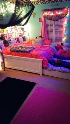 Cute Bedroom Ideas, Cute Room Decor, Room Decor Bedroom, Big Girl Bedrooms, Little Girl Rooms, Girls Bedroom, Daughters Room, Dream Rooms, Cool Rooms