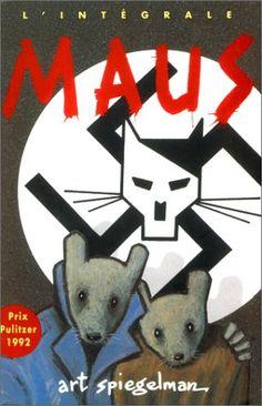 C'est l'histoire d'Art Spiegelman qui veut raconter la vie de son père, Vladek, juif polonais, prisonnier du camp d'Auschwitz et rescapé de la Seconde Guerre mondiale.  Pour rendre le sujet digeste, Spiegelman dessine les juifs comme des souris, les Allemands sont des chats, les Polonais, des cochons. C'est ce qui donne toute la force à ce récit imagé.