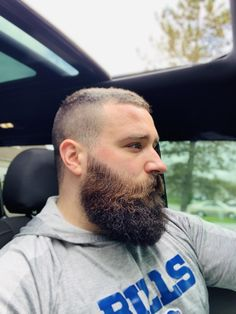 Happy Sunday my dudes - Care - Skin care , beauty ideas and skin care tips Beard And Mustache Styles, Beard No Mustache, Hair And Beard Styles, Scruffy Men, Hairy Men, Bearded Men, Great Beards, Awesome Beards, Just Beautiful Men