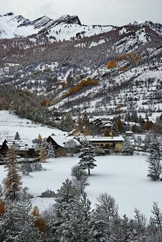 Winter wonderland, region of #Piemonte, Italy.