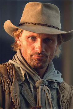 Viggo Mortensen - Haven't seen Appaloosa? Watch it! You get this gent AND Ed Harris. I know, right?