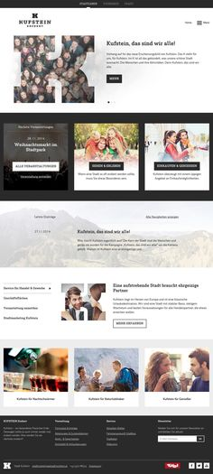 The city of Kufstein decided to rebrand themselves and re-develop their website with a focus on tourism and provide information about offers and services. Marketing, Tourism, City, Shopping, Urban Park, Culture, Turismo, Cities