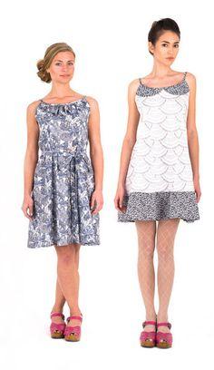 Christine Haynes Patterns - Derby Dress Sewing Pattern - Vintage Inspired Sundress
