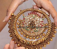Radha Krishna Antique Pendant