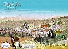 Alcalá del Valle en clave de Cómic y verso.  ¡¡Al Sur; siete veces nada!, la villa de las bodegas. ¡¡Al Este; tienes Izn- Rand Onda, la actual Ronda! ¡¡Y al Oeste más tesoros tienes tú, la torre de Alháquime, y el rio Gualporcún!! - See more at: http://www.elsurderomero.com/2013/05/alcala-del-valle.html#sthash.9sFjsYY5.dpuf