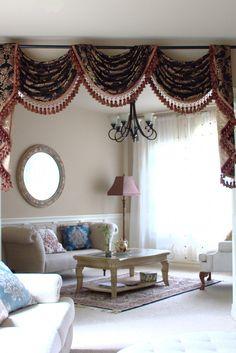 Window Fashion | Pinterest | Kitchen Curtains, Modern Kitchen Curtains And  Valance Curtaiu2026