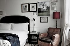 The NoMad Hotel, New York City Luxury Hotel, fresh take on the classic grand hotels of Europe Hotel A New York, New York Hotels, Nomad Hotel Nyc, Patterned Lampshades, Nomad New York, Beste Hotels, Traditional Bedroom, Home Bedroom, Bedroom Decor
