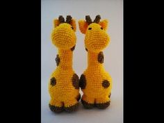 Crochet Giraffe Plushie - YouTube