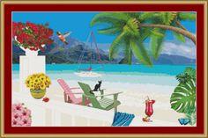 Seaside by Avalon Cross Stitch on Etsy