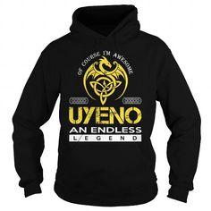Awesome Tee UYENO An Endless Legend (Dragon) - Last Name, Surname T-Shirt T shirts