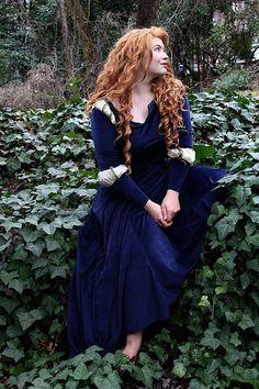 FOR NICOLE -Merida Brave Disney Costume Cosplay Dress