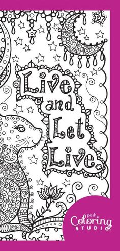 Download Adult Coloring Pages From Posh Studio This Spring Page Is Free