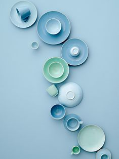 Ocean inspired Olivia tableware by Bloomingville