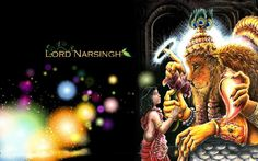 "Lord Narasimha ""If I had a heart I could love you."""