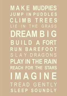 "#summer <3 love how ""dream big"" and ""imagine"" were the biggest words :)"