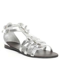 250f23e08ef N.Y.L.A. Hassan Sandal - Silver Sandal