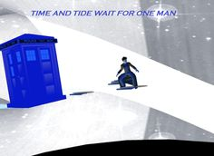 """Time and tide wait for one man Guess who"" Posters by LokiLaufeysen 