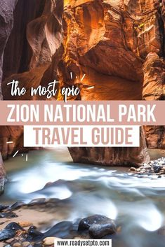 Looking to explore the best US National Parks? Zion National Park should definitely be on your bucket list! Hike through the water between canyon walls at The Narrows, or test your fear of heights on the iconic Angels Landing. Check out my guide for all the info you need to plan an epic trip!   Zion National Park | US Travel | Zion Itinerary | Zion Hikes Usa Travel Guide, Travel Usa, Travel Guides, Travel Europe, Travel Tips, Us National Parks, Zion National Park, Zion Hikes, Us Road Trip