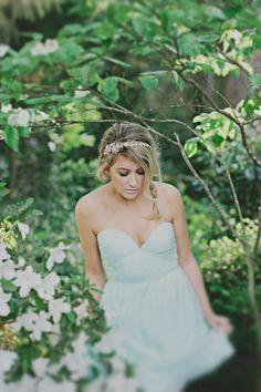 aqua bridesmaid dress