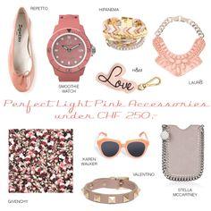 Light Pink Accessories Givenchy, Valentino, Pink Accessories, Karen Walker, Stella Mccartney, Chf, Watches, Smoothie, Advertising