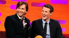 [RT] #DavidTennant Daily Photo! David with Matt Smith #DoctorWho