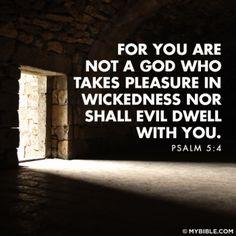 Psalm 5:4