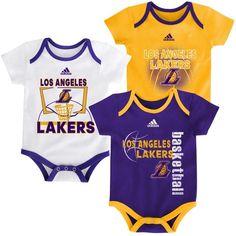 Los Angeles Lakers LA Creeper Set Point